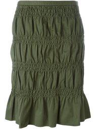 юбка с присборенными деталями Romeo Gigli Vintage
