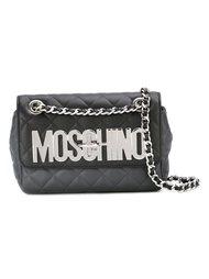 сумка через плечо с логотипом  Moschino