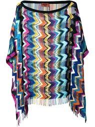 вязаная блузка зигзагообразной вязки   Missoni