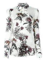 блузка с цветочным принтом  Ann Demeulemeester
