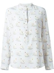 рубашка с принтом уток 'Eva'  Stella McCartney