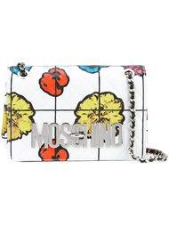 сумка через плечо с цветочным принтом Moschino