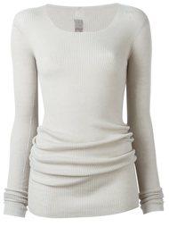 длинный свитер Rick Owens