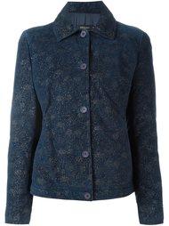 куртка с отблеском Romeo Gigli Vintage