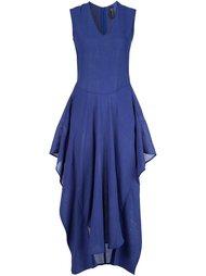 платье 'Silia' c V-образным вырезом  Zero + Maria Cornejo