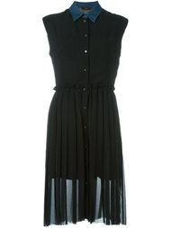 драпированное платье без рукавов Diesel