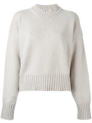 свитер свободного кроя  Jil Sander