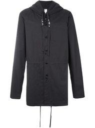 куртка с капюшоном и завязками Damir Doma