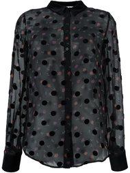 полупрозрачная блузка в горошек  Sonia By Sonia Rykiel