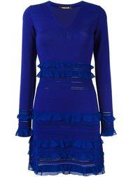 платье c V-образным вырезом  Roberto Cavalli
