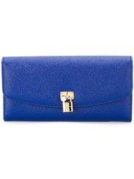кошелек с декоративным замком  Dolce & Gabbana