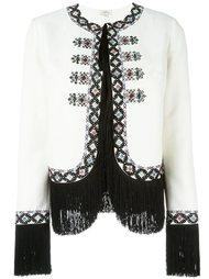 пиджак с вышивкой и бахромой Talitha