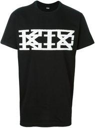 футболка с принтом логотипа   KTZ