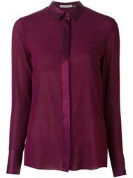 полупрозрачная блузка Alice+Olivia