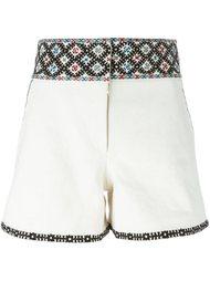 шорты с вышивкой Talitha