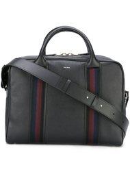 портфель с контрастными полосами Paul Smith