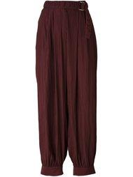 брюки с заниженной шаговой линией  Lanvin