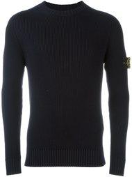 свитер в рубчик Stone Island