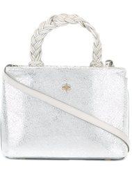 сумка-тоут с плетеной ручкой Marcel Seraphine