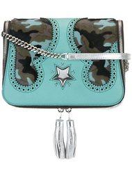сумка на плечо с камуфляжной деталью The Volon