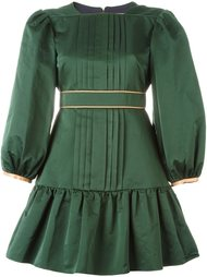 плиссированное платье Roksanda