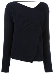 свитер с запахом MSGM