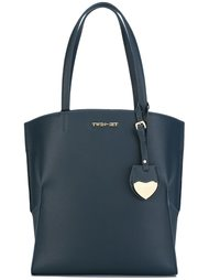 сумка-тоут с подвеской-сердцем Twin-Set