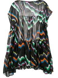 платье с камуфляжным принтом  Missoni