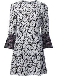 платье с контрастными манжетами Derek Lam 10 Crosby