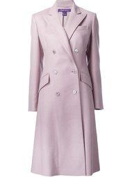 двубортное пальто  Ralph Lauren Black