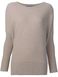 свитер в рубчик Ralph Lauren Black