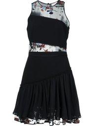 платье с вышивкой Cinq A Sept