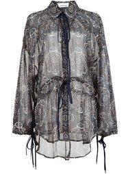 блузка с абстрактным принтом  Chloé
