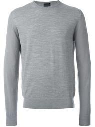 свитер с контрастными панелями Lanvin
