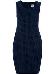 короткое жаккардовое платье Armani Collezioni