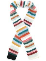 вязаный шарф в полоску Chloé