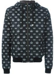 куртка ветровка с принтом логотипа  Dolce & Gabbana