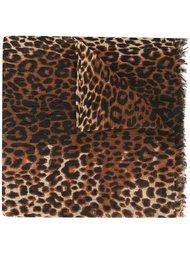 платок с леопардовым принтом Twin-Set