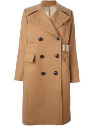 двубортное пальто  Sacai