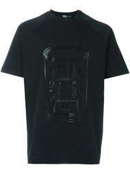 футболка с принтом банки Y-3
