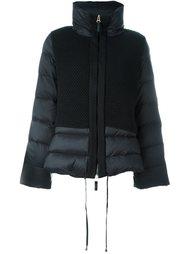 стеганая куртка с воротником-воронкой Twin-Set