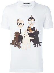 футболка с нашивками  Dolce & Gabbana