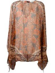 свободная блузка с цветочным принтом Chloé
