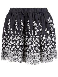 юбка с цветочным принтом  Ulla Johnson