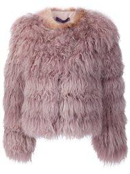 пушистая куртка из овчины Ralph Lauren Black
