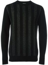 свитер в полоску  Balmain