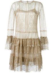 кружевное платье  Alberta Ferretti