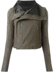 байкерская куртка с металлической отделкой Rick Owens