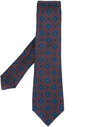 галстук с орнаментом Kiton
