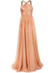 вечернее платье в пол Maria Lucia Hohan